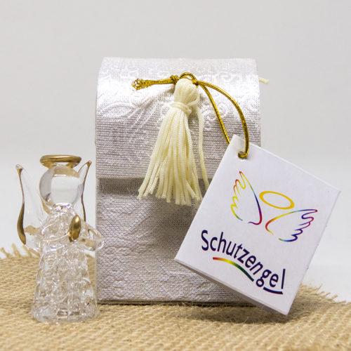 Schutzengel aus Glas in schöner Geschenkbox
